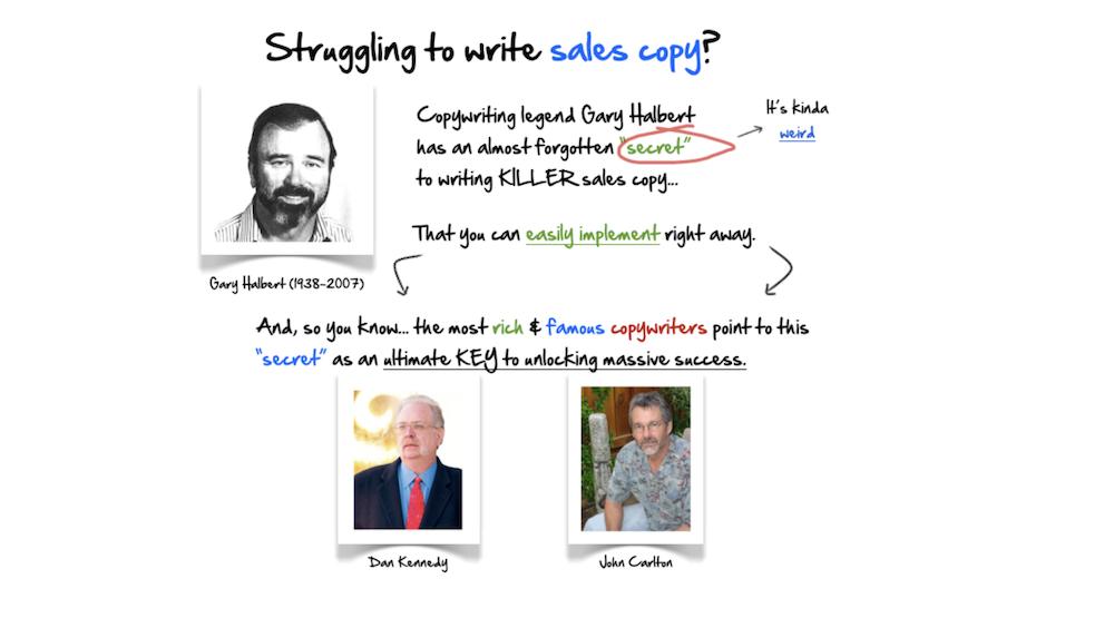copyhour b2b copywriting example