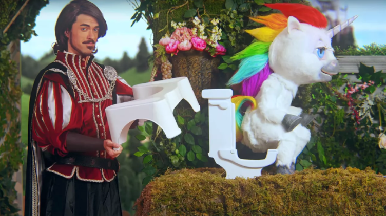 squatty potty video marketing strategy landing page example